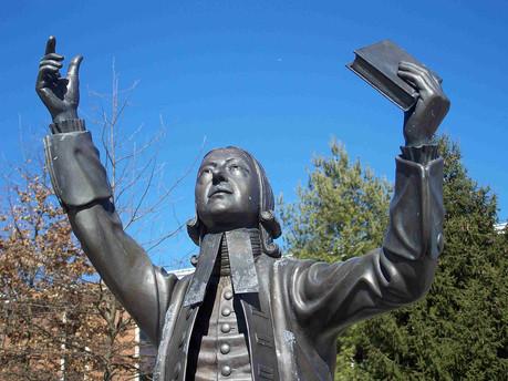 John Wesley Statue USA