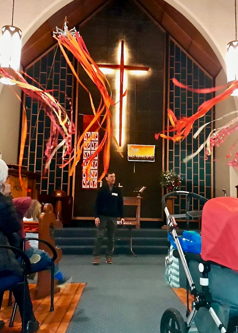 Messy Pentecost