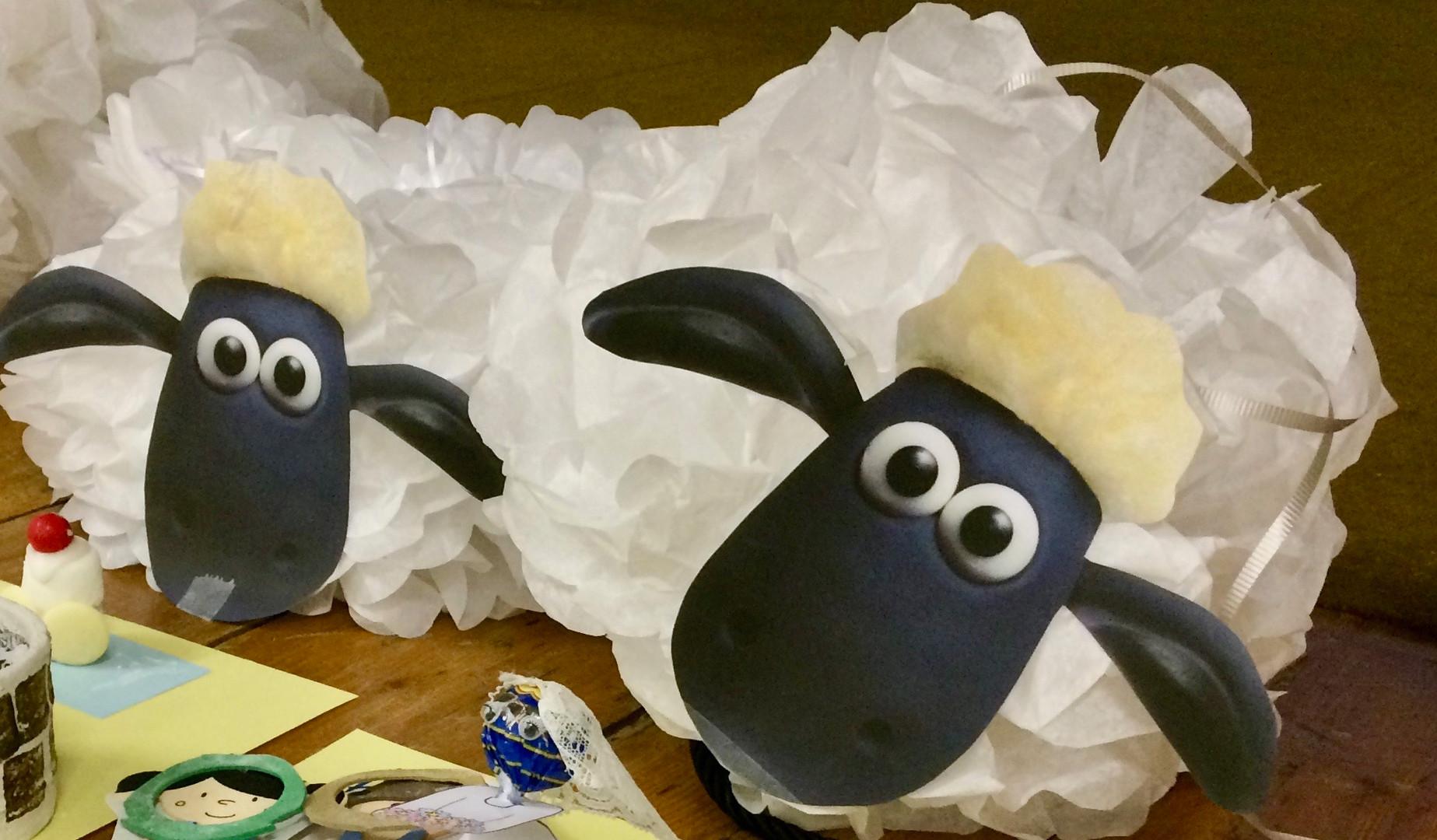 Messy Sheep.