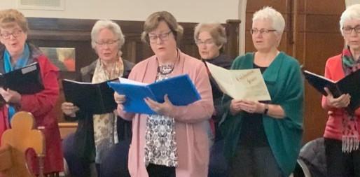 """Choir sings """"Taste and See"""""""
