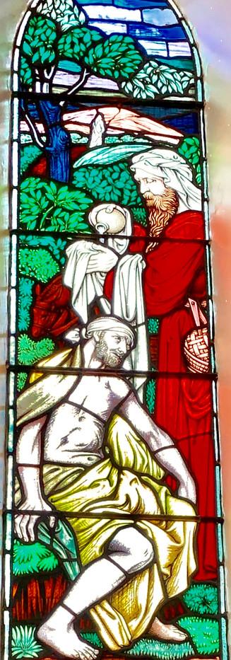 Go thou Samaritan, and do likewise.