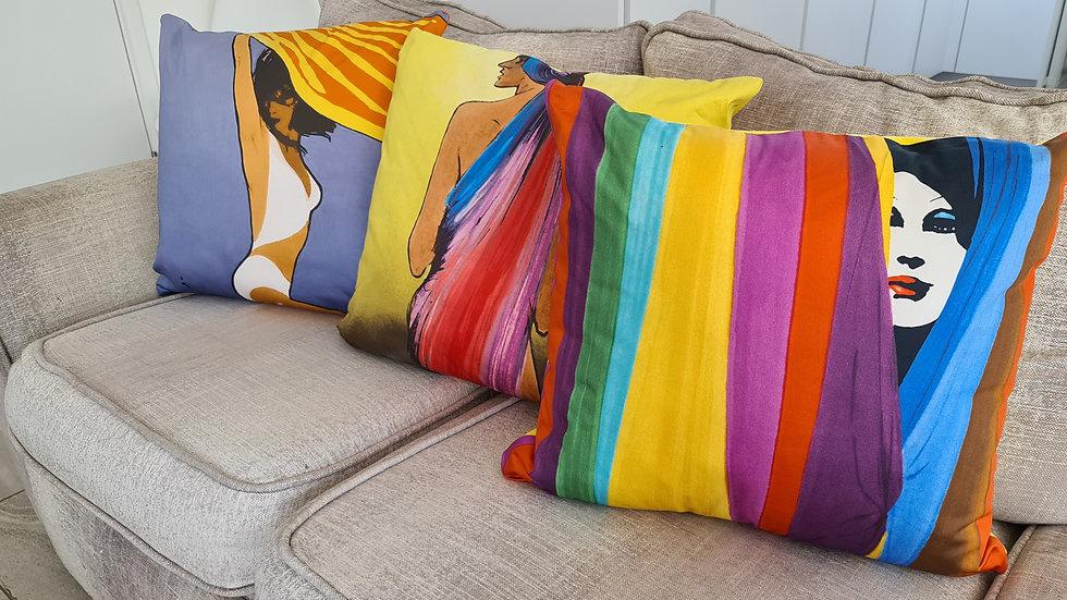Rene Gruau Art Cushions