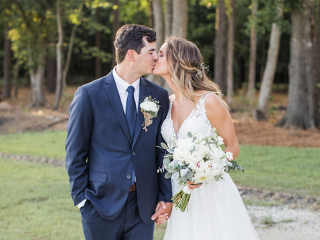 Megan & Patrick | Beautiful Coastal Wedding in Bath, NC