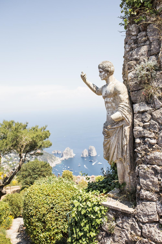 Augustus Gardens Capri Italy