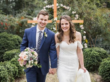 Shannon & Conner   Dreamy Backyard Wedding in Raleigh