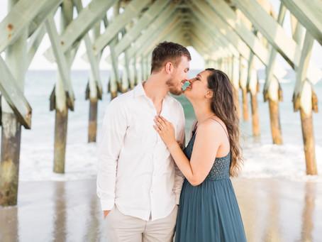 Danielle & Brady: Wilmington & Wrightsville Beach Engagement Session   Raleigh Wedding Photographer