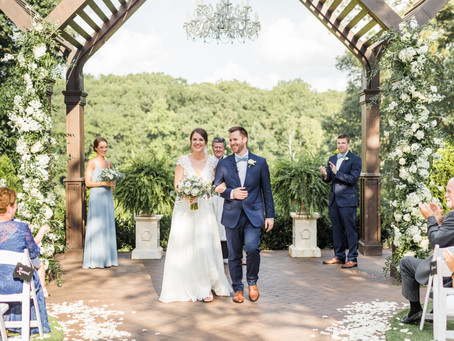 Taryn & John: Classic and Elegant Summer Wedding at Highgrove Estate | Raleigh Wedding Photographer