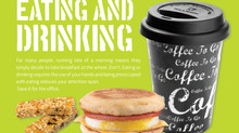RCP Magazine | Eating and drinking whilst driving