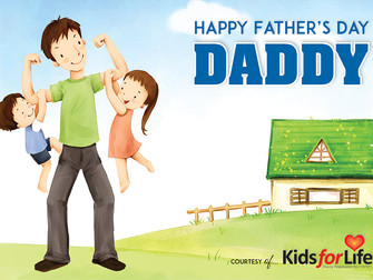Happy Father's Day! - Kids for Life Free Card