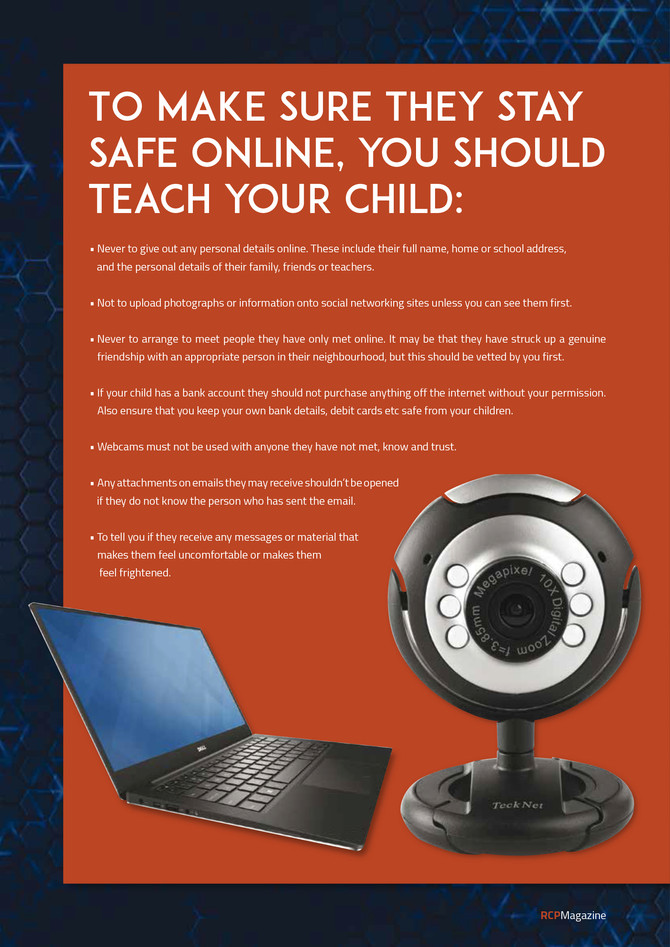 RCP Magazine | Stay Safe Online