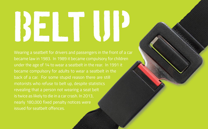 RCP Magazine | Belt Up!