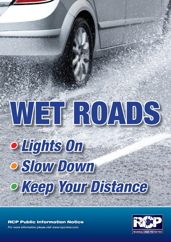 RCP Magazine - Wet Roads