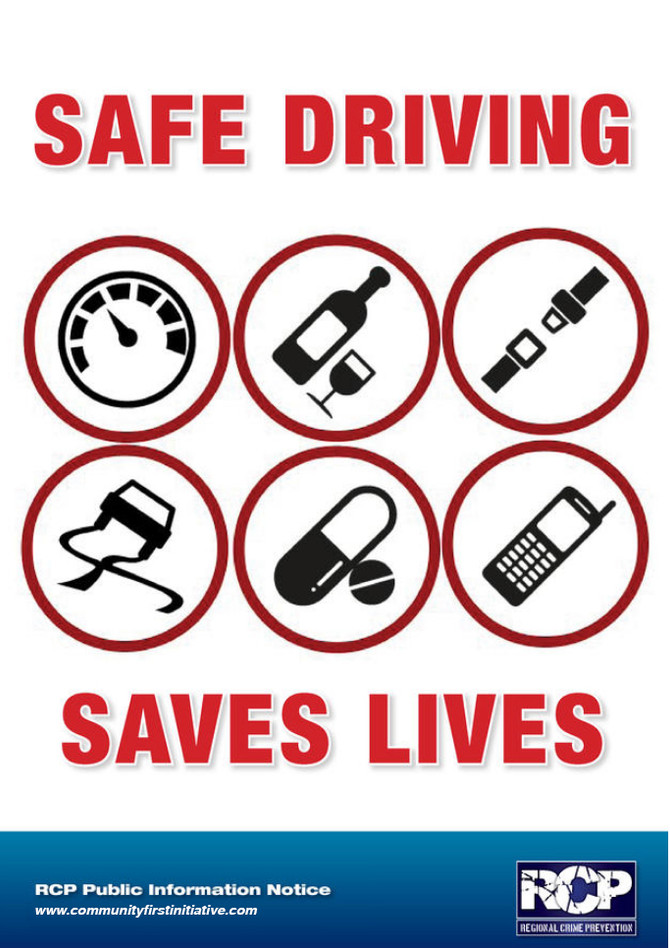 RCP Magazine - Safe Driving Saves Lives