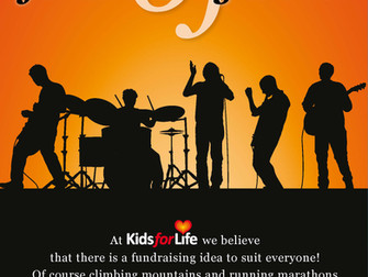 Kids for Life - Stuck for fundraising ideas?