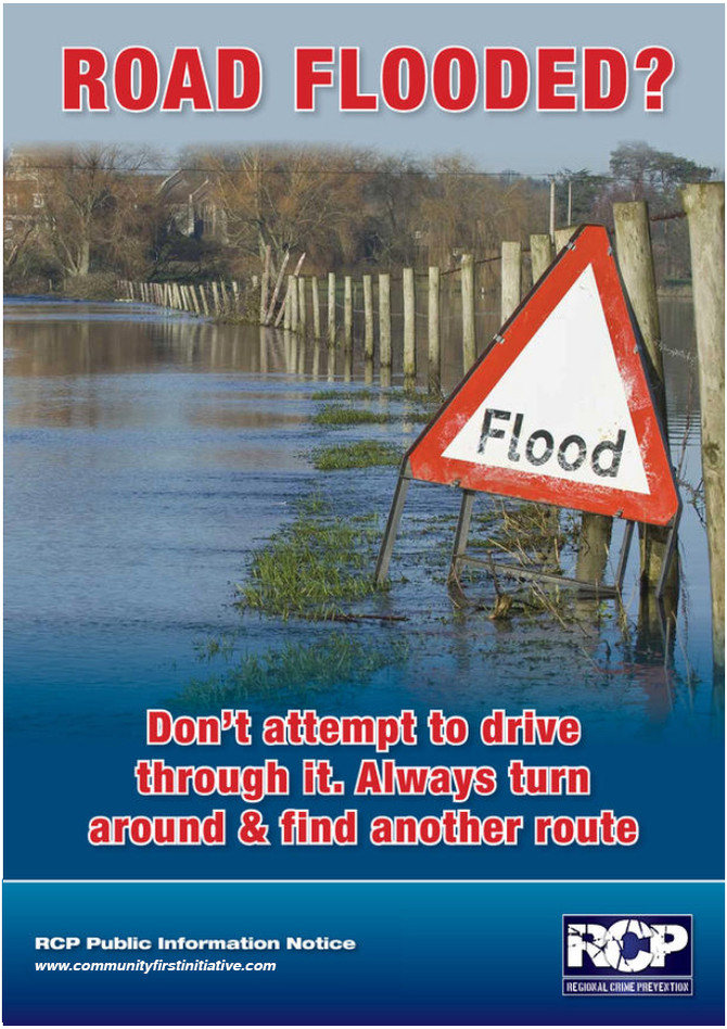RCP Magazine - Road Flooded?