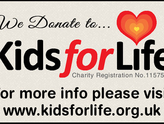 Kids for Life Donation Badge