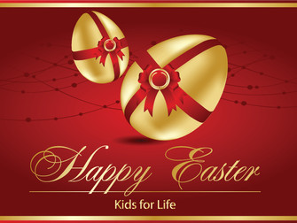 Happy Easter! - Kids for Life Free Easter Card 2016