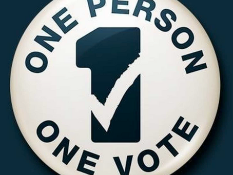 1=1   Simple-every person every vote