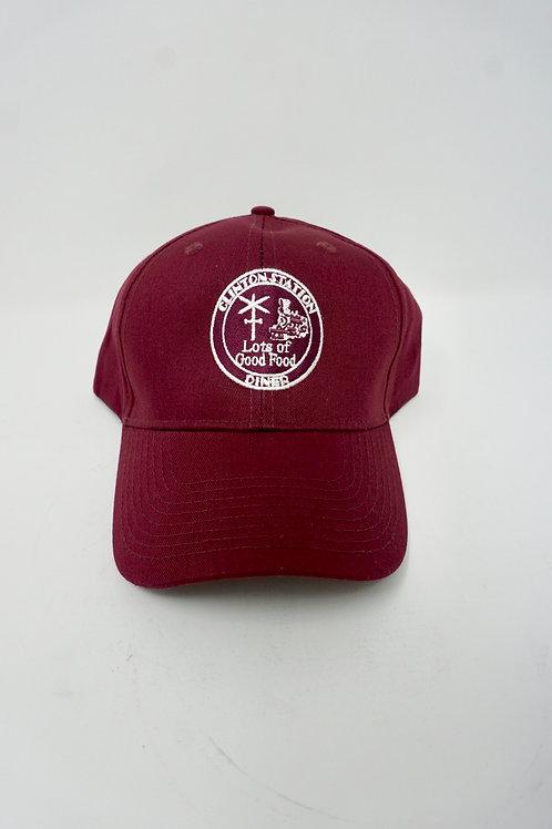 Clinton Station Diner Hat - Red