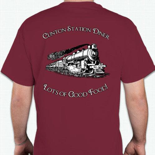 Red CSD Train Shirt