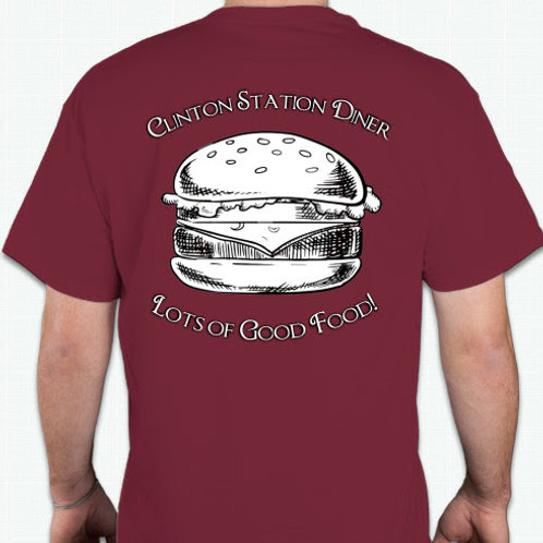 Red CSD Burger Shirt