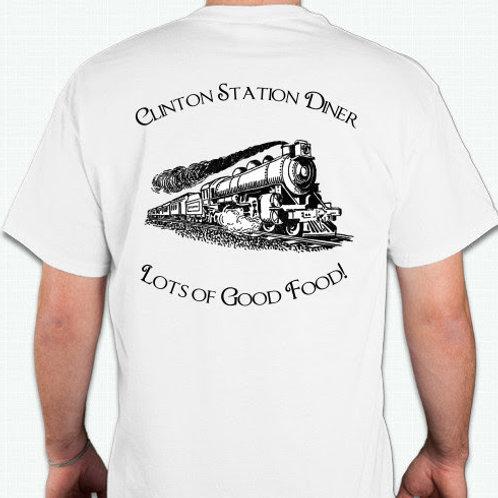 White CSD Train Shirts