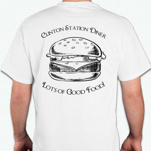 White CSD Burger Shirt