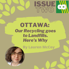 Most of Ottawa's Compost goes right into the Landfill, here's why