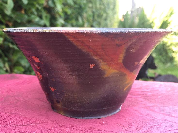 Pit Fired Pot 22. 12x8cm
