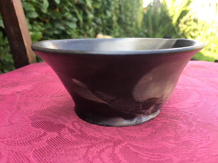Pit Fired Bowl 18. 11x6cm