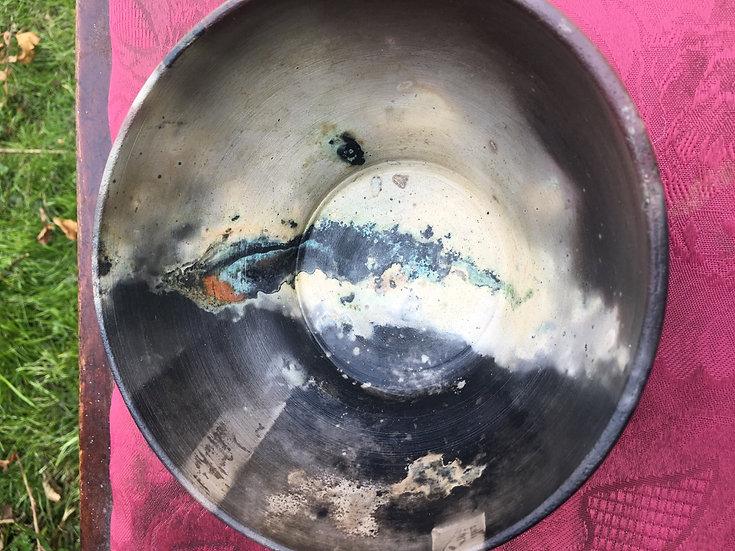Pit Fired Bowl 2. 15x8cm
