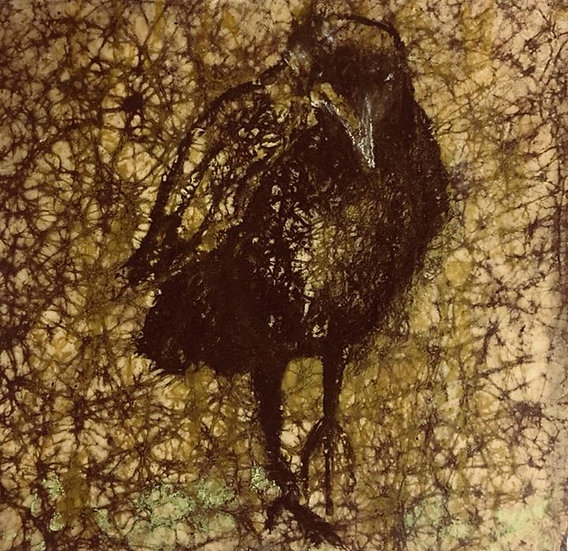 Crow 19x19cm