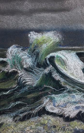 Stormy Waves 20x30cm