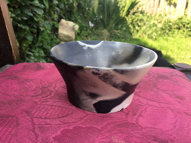 Pit Fired bowl 5. 12x10cm