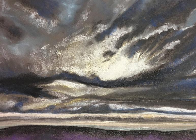 Big Skies, Hole of Horcum 50x70cm