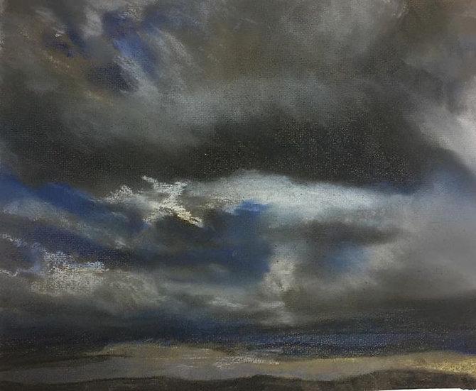 Big Skies 3: North Yorks Moors 30x25cm