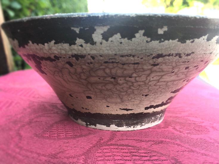 Pit Fired Pot 24. 14x6cm