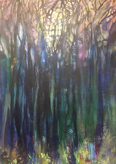 Dark Forest  50x70cm