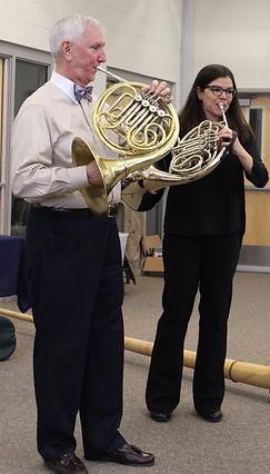 horn displays