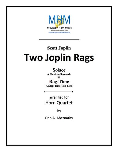 Joplin - Two Rags Horn Quartet