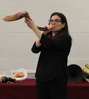 shofar demonstration