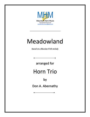 ABERNATHY - MEADOWLAND Horn Trio