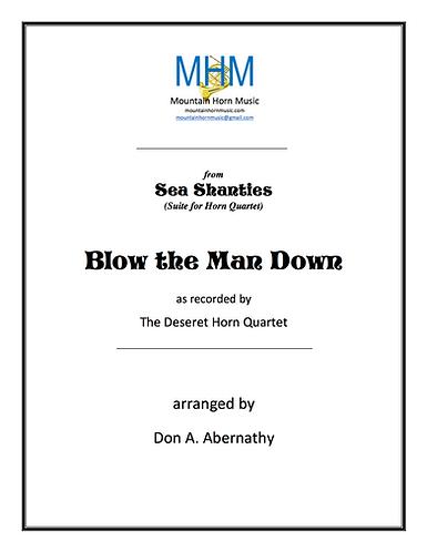 Abernathy - Blow the Man Down Horn Quartet