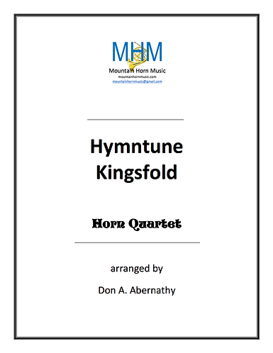 Abernathy - Hymntune Kingsfold Horn Quartet