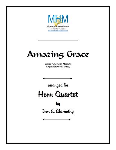 Abernathy - Amazing Grace Horn Quartet