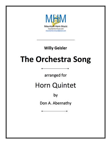 Geisler - The Orchestra Song Horn Quintet