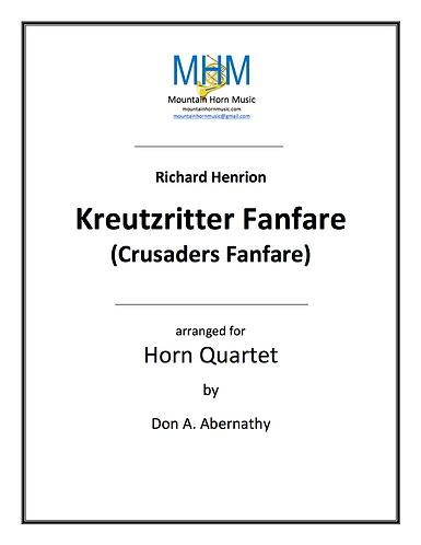 Henrion - Kreuztritter Fanfare Horn Quartet
