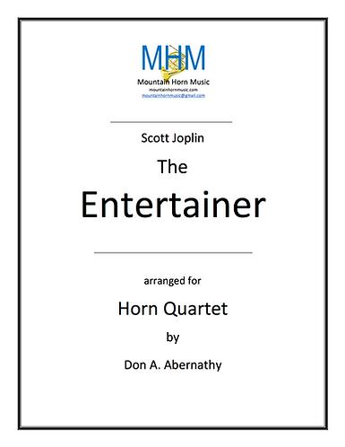 Joplin - The Entertainer Horn Quartet