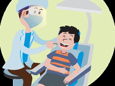 Estudo aponta que as chances de pegar COVID no consultório dentista são muito baixas.