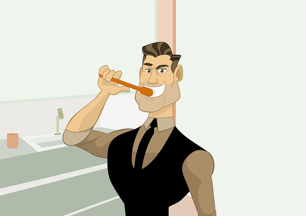 escovar os dentes adia alzheimer
